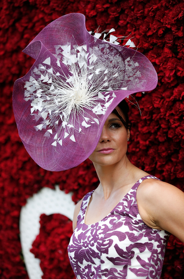 qatar goodwood lady in hat - luxury lifestyle magazine - eat love savor