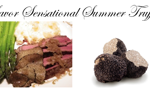 summer truffles recipe Truffles Recipe: Grilled Porterhouse Steak with Summer Truffles and Cognac Shallot Reduction - EAT LOVE SAVOR International luxury lifestyle magazine and bookazines