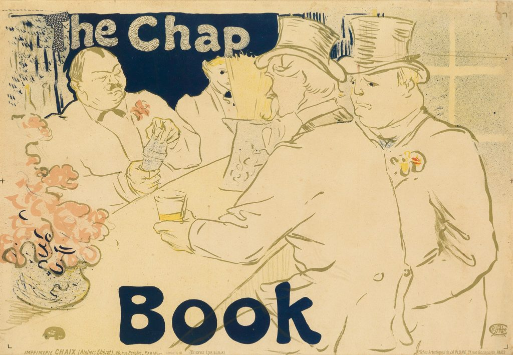 Henri de Toulouse-Lautrec, The Chap Book - luxury lifestyle magazine - eat love savor