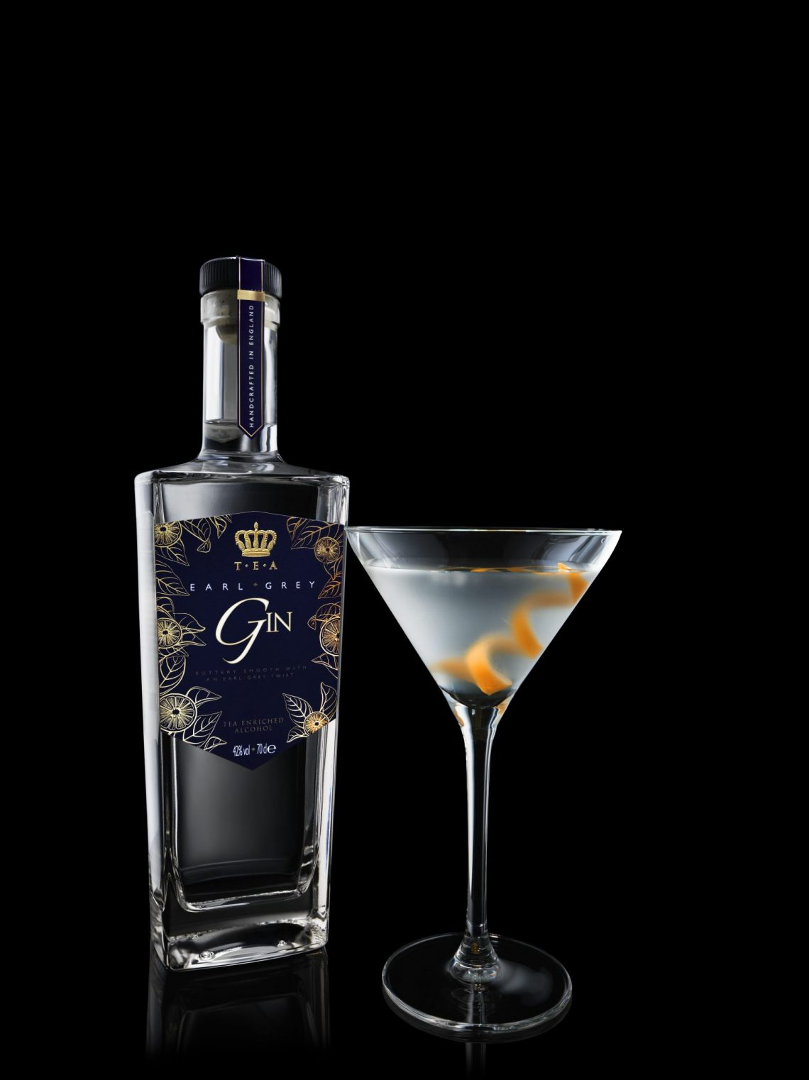 Earl Grey Gin Glass Discover: T.E.A – Tea Enriched Alcohol EAT LOVE SAVOR International luxury lifestyle magazine and bookazines