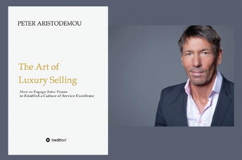 Peter Aristodemou the art of luxury selling