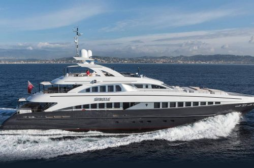 sibelle superyacht Superyacht: Heesen Sibelle, 44 Meters of Elegance and Sophistication EAT LOVE SAVOR International luxury lifestyle magazine and bookazines