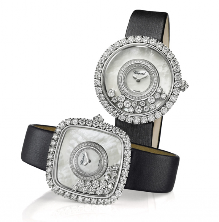 Chopard HAPPY DIAMONDS - luxury lifestyle magazine eat love savor