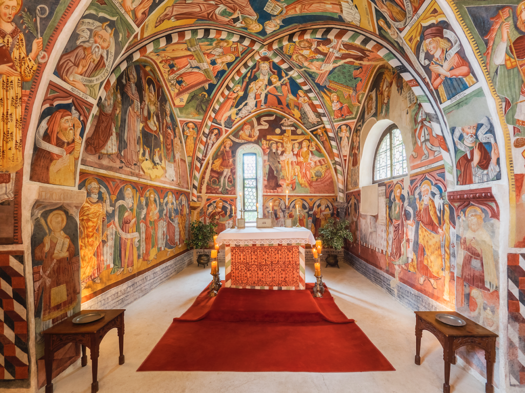 Castel Valer chapel - eat love savor luxury lifestyle magazine