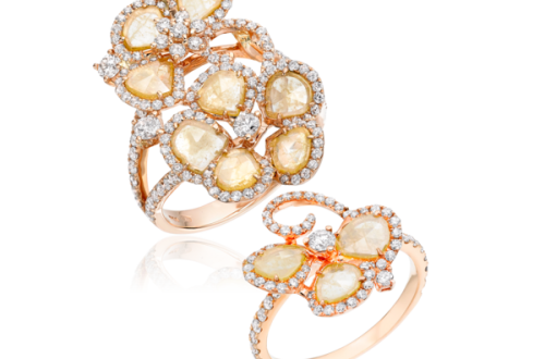 Saqqara Yellow Meadow Ring grande Discover: SAQQARA, Jewelry Designed by Lady Dalit Nuttall - EAT LOVE SAVOR International luxury lifestyle magazine and bookazines
