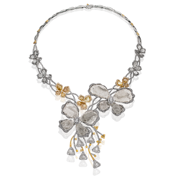 SAQQARA majestic butterfly necklace