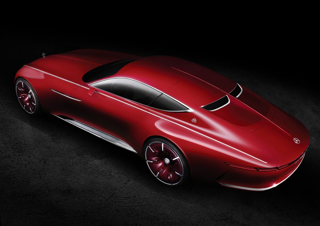 Vision Mercedes-Maybach 6: Studie eines extravaganten Coupés der Luxusklasse; 2016 ; Vision Mercedes-Maybach 6: Study of an ultra-stylish luxury-class coupé; 2016