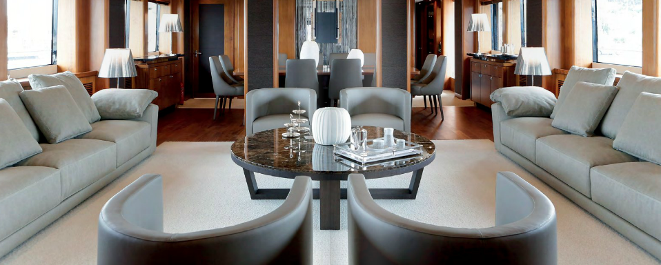 Sabrina monte carlo yacht living room - eat love savor luxury lifestyle magazine