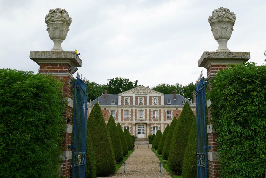 French chateau-haute-normandie exterior - eat love savor luxury lifestyle magazine