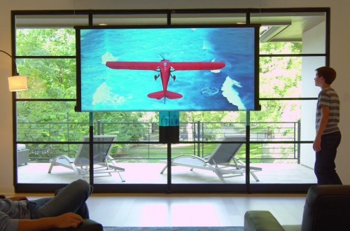 rollable tv Luxury Home: World's First Rollable Television - EAT LOVE SAVOR International luxury lifestyle magazine and bookazines