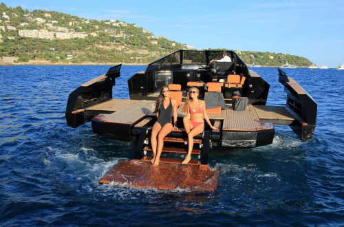 Evo 43 Evo Yachts' 13-Meter Powerboat Turns Heads at The Monaco Yacht Show and Les Voiles De Saint-Tropez - EAT LOVE SAVOR International luxury lifestyle magazine and bookazines