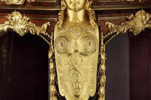 8563 Vienna Exhibition Cabinet by Gueret Freres close up Why Pick Me? 5 Reasons to Take Home an Antique EAT LOVE SAVOR International luxury lifestyle magazine and bookazines