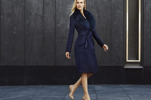 Sentaler blue coat - eat love savor luxury lifestltyle magazine