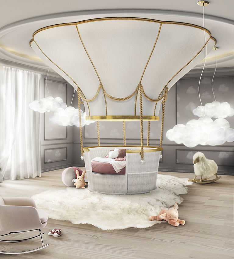 fantasy air balloon bed - eat love savor luxury lifestyle magazine