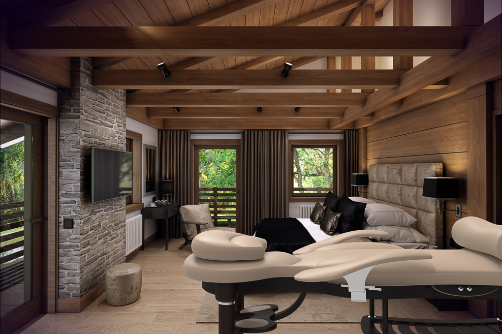Bespoke Luxury Massage Couch Complements World's Most Prestigious ...