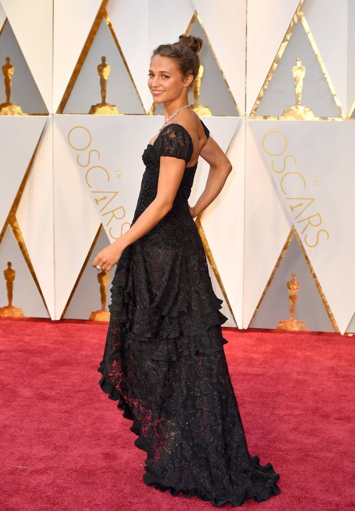 ALICIA VIKANDER louis vuitton Best Dressed at the Oscars - EAT LOVE SAVOR International luxury lifestyle magazine and bookazines