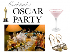 oscar party cocktails - eat love savor luxury lifestyle magazine