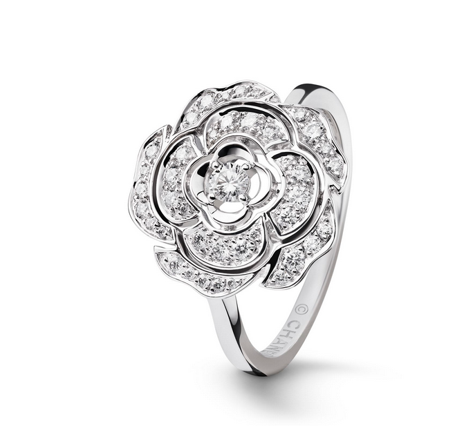 camelia ring chanel Chanel Bouton de Camélia Collection: Eternally Beautiful and Inspiring - EAT LOVE SAVOR International luxury lifestyle magazine and bookazines