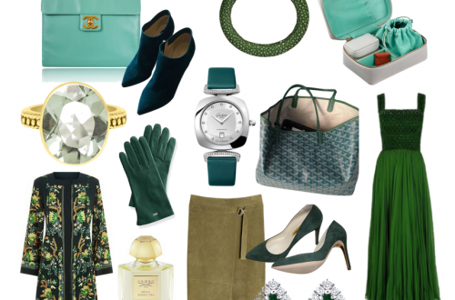 green color story and edit Editor Selects: Fresh and Elegant Seasonless Fashion Color Story of Greens EAT LOVE SAVOR International luxury lifestyle magazine and bookazines