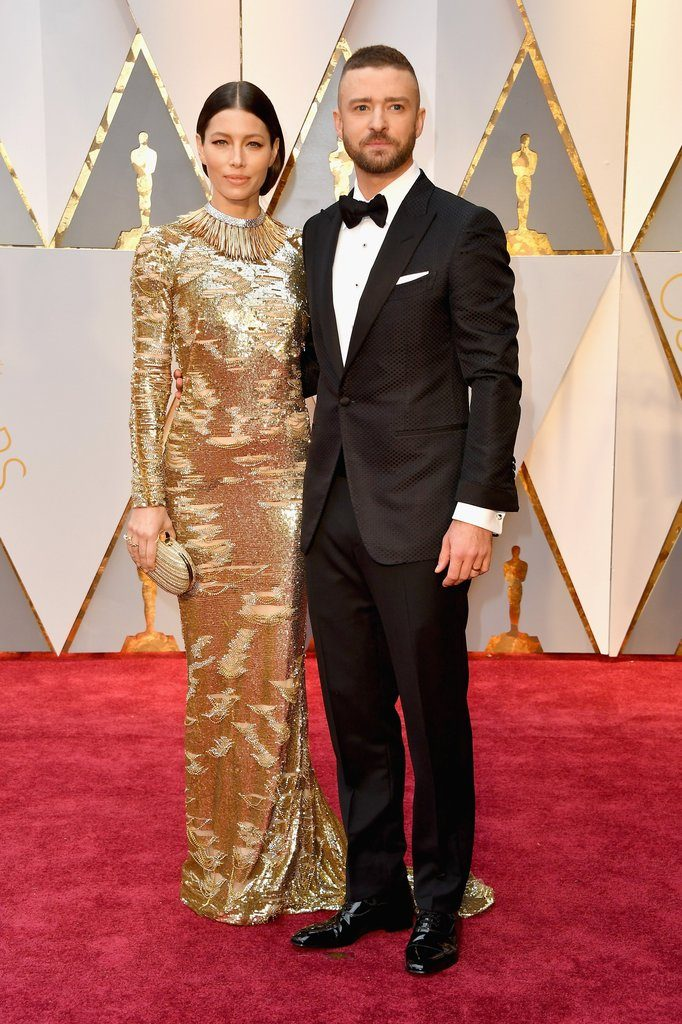 jessica biel kaufmanfranco justin timberlake tom ford oscars Best Dressed at the Oscars - EAT LOVE SAVOR International luxury lifestyle magazine and bookazines