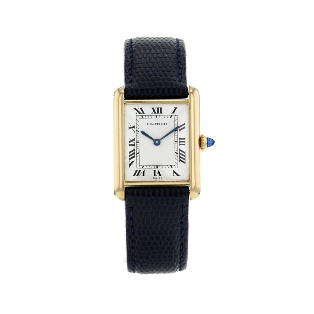 Cartier tank watch - eat love savor luxury lifestyle magazine