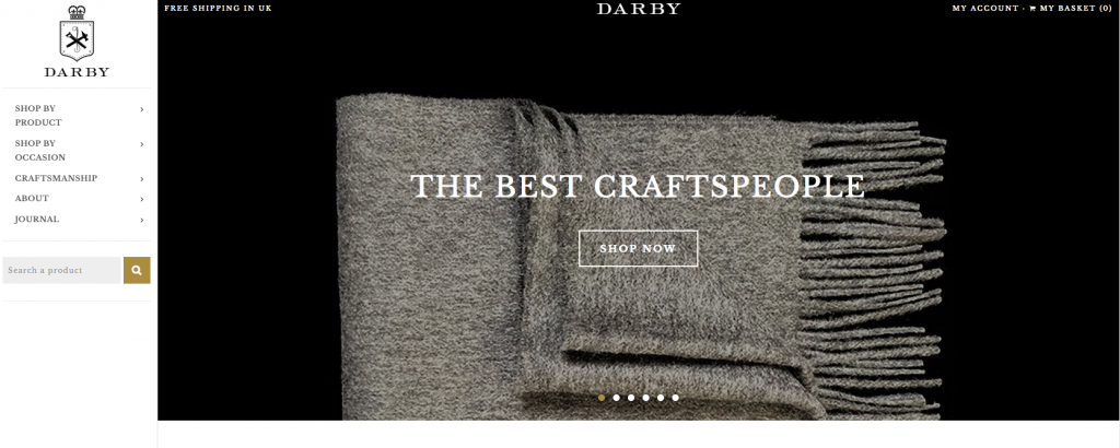 Introducing DarbyMade: Online Destination for Quality Gifts, Handmade In Britain