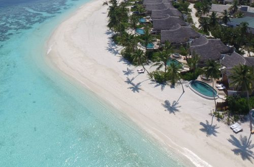 milaidhoo maldives aerial pictures 3