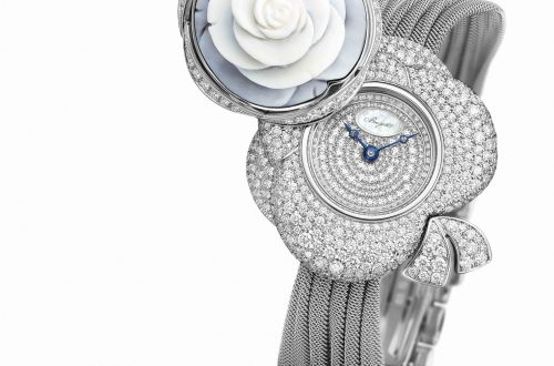 Secret de la Reine ouverte white lo Floral Beauties from Breguet - EAT LOVE SAVOR International luxury lifestyle magazine and bookazines