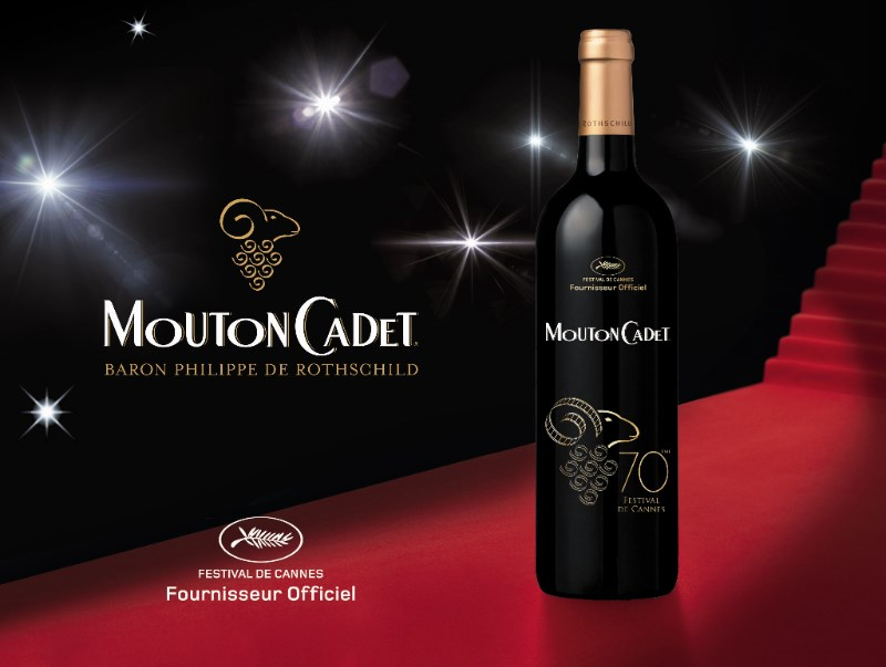mouton cadet limited eidtion cannes 2017 - eat love savor - luxury lifestyle magazine
