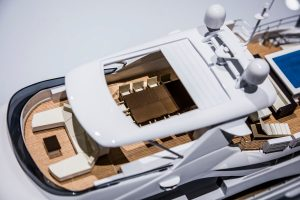 Courtesy of Model Maker Group All bow for the SuperYacht Gallery at Saatchi London - EAT LOVE SAVOR International luxury lifestyle magazine and bookazines