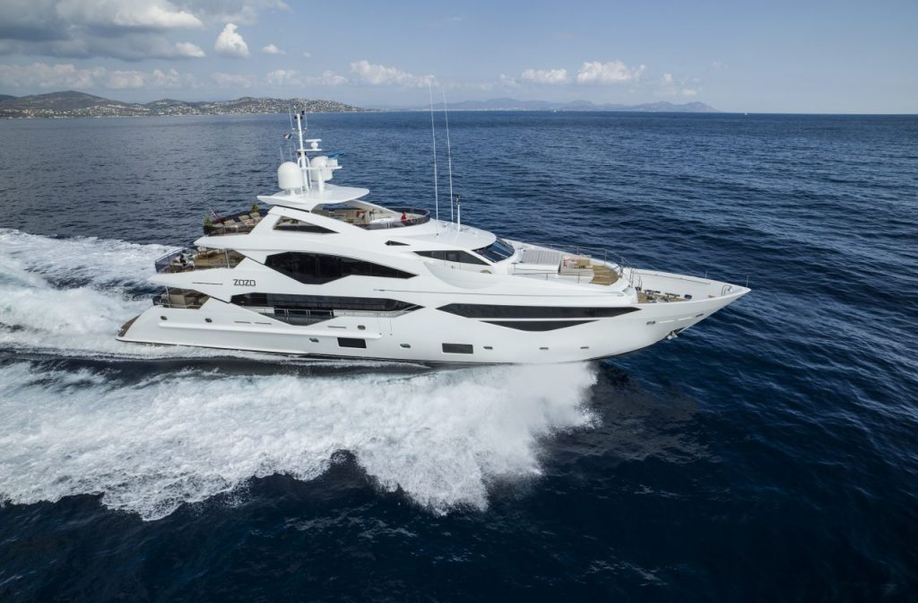 sunseeker 131 yåcht Introducing The Sunseeker Luxury Yachts Line Up For The Cannes Yachting Festival 2017 EAT LOVE SAVOR International luxury lifestyle magazine and bookazines