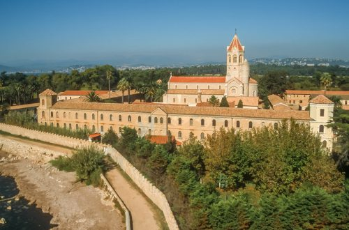 Monastery St Honorat Ile de Lérins A Flight of Fancy: Fly to Taste Fine Wines - EAT LOVE SAVOR International luxury lifestyle magazine and bookazines