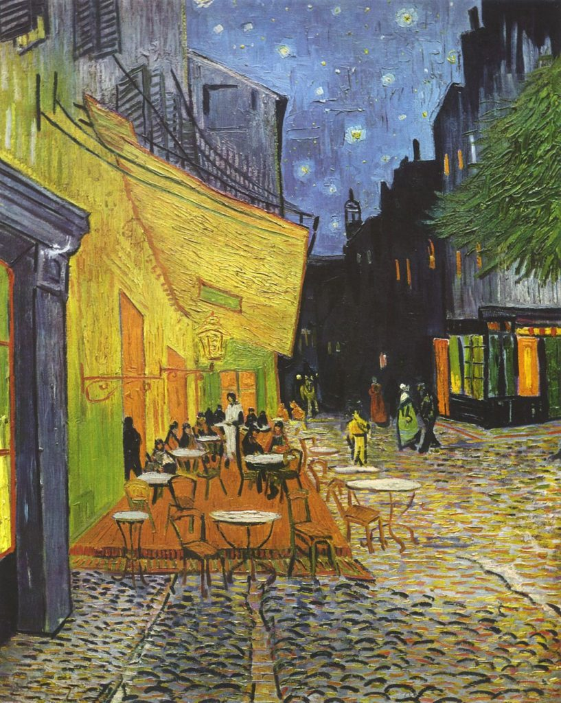 Vincent Willem van Gogh   Cafe Terrace at Night Yorck copy A Sensory Remembrance: A Déjà-vu Awakening in Arles, France - EAT LOVE SAVOR International luxury lifestyle magazine and bookazines