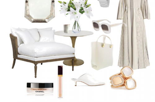 editor selects summer whites Fresh and Lovely Look: The Luxury of Summer Whites - EAT LOVE SAVOR International luxury lifestyle magazine and bookazines