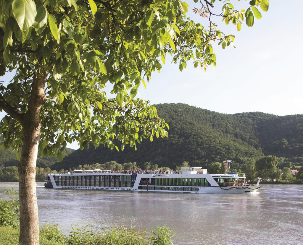 Ama Dolce Exterior Distilling the Essence: The AmaWaterways Wine-Themed Cruise - EAT LOVE SAVOR International luxury lifestyle magazine and bookazines
