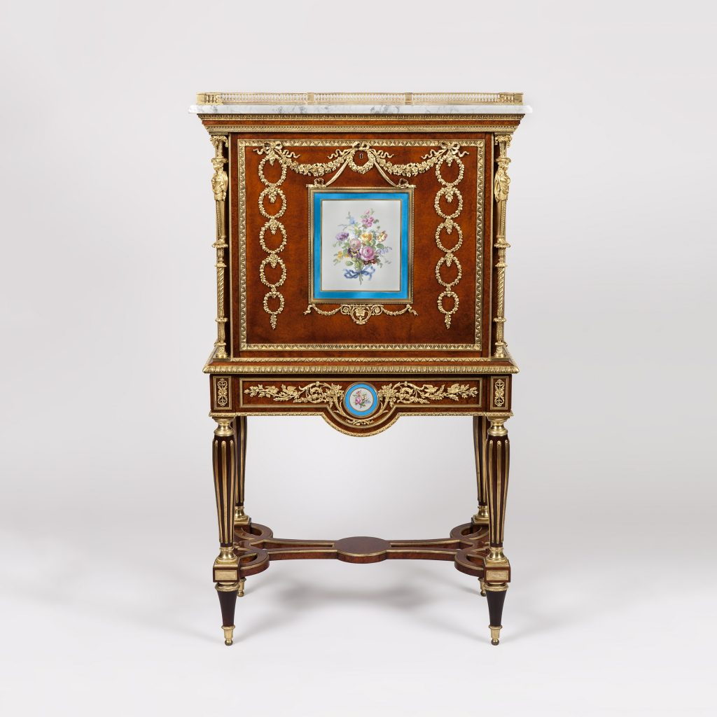 Escritoire in the manner of Weisweiler, Furniture and Decoration in the Louis XVI Style
