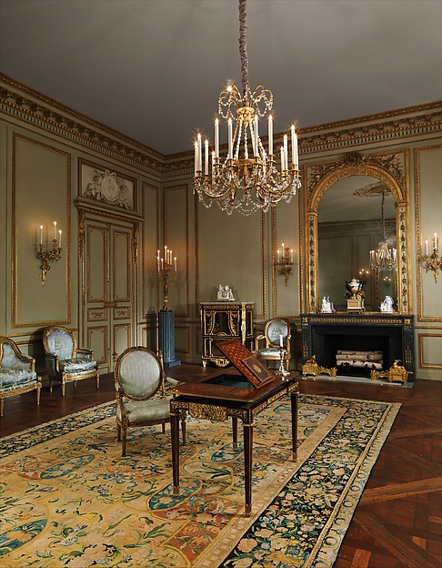 Grand Salon from the Hôtel de Tessé Paris Copyright The Metropolitan Museum of Art Furniture and Decoration in the Louis XVI Style - EAT LOVE SAVOR International luxury lifestyle magazine and bookazines