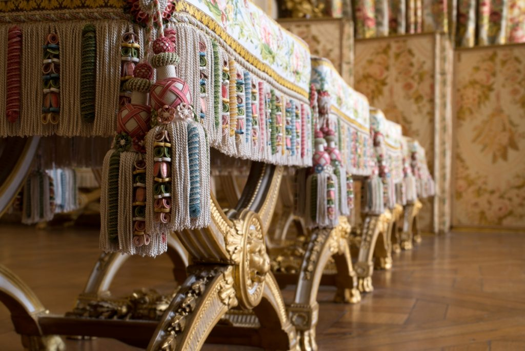 Louis XVI Closet. Copyright Chateau de Versailles, Furniture and Decoration in the Louis XVI Style
