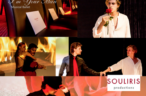 im your man performance collage Gourmet Ballet 'I'm Your Man' from Gstaad to New York - EAT LOVE SAVOR International luxury lifestyle magazine and bookazines