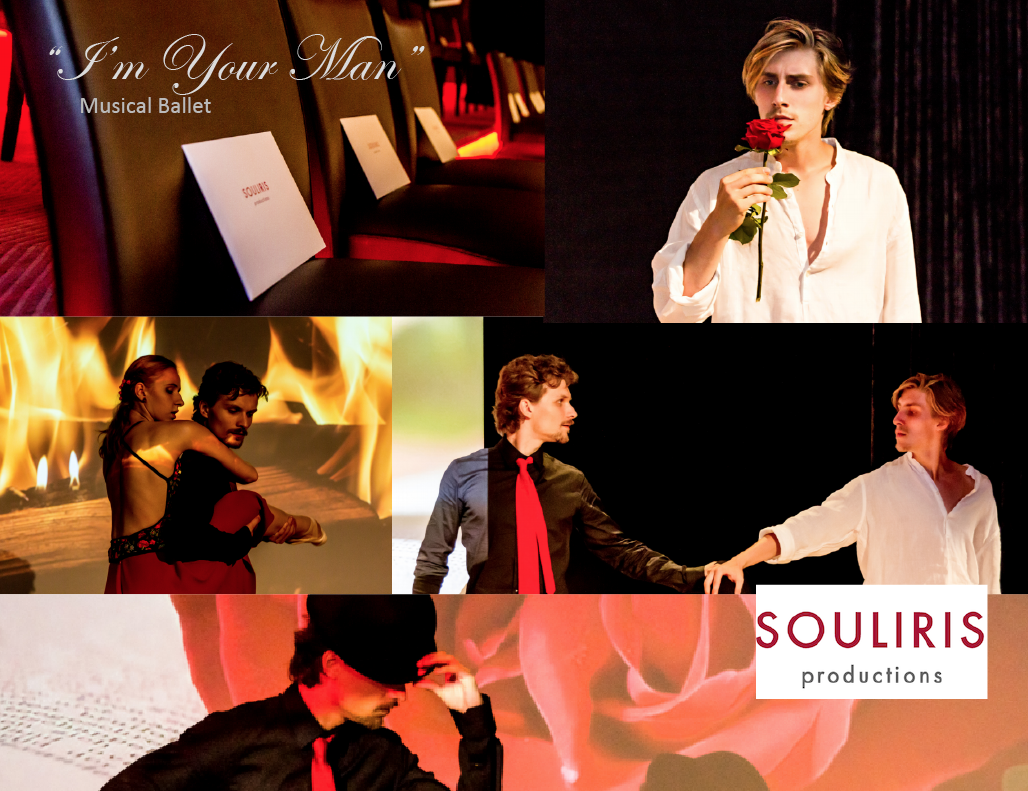 im your man performance collage Gourmet Ballet 'I'm Your Man' from Gstaad to New York EAT LOVE SAVOR International luxury lifestyle magazine and bookazines