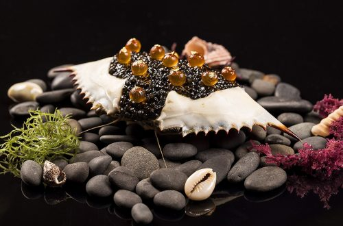 Le Crabe et Caviar spring 2015 copy The Multi Sensory Edible Landscape, New Dimensions in Luxury Cuisine - EAT LOVE SAVOR International luxury lifestyle magazine and bookazines
