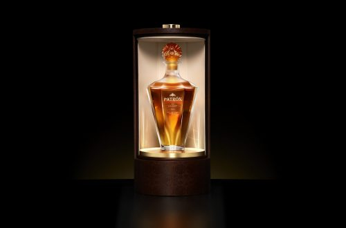PATRON Lalique BrochureBottle Angle InBox 750ml 001 Bottle in Box Discover 'Patrón en LALIQUE: Serie 2' EAT LOVE SAVOR International luxury lifestyle magazine and bookazines