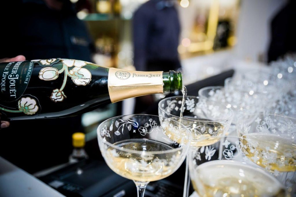 An Enchantment of Bubbles: 54 on Bath Launches the New Perrier-Jouët Champagne Garden