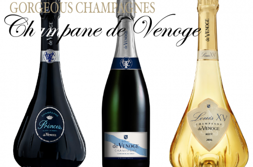 CHAMPAGNE DE VENOGE THREE BOTTLES