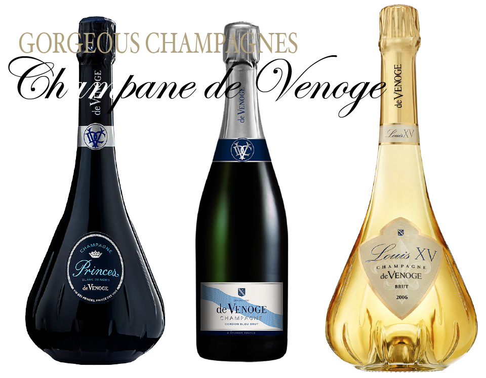 CHAMPAGNE DE VENOGE THREE BOTTLES Champagne de Venoge Gorgeous Wines Gets Top Marks - EAT LOVE SAVOR International luxury lifestyle magazine and bookazines