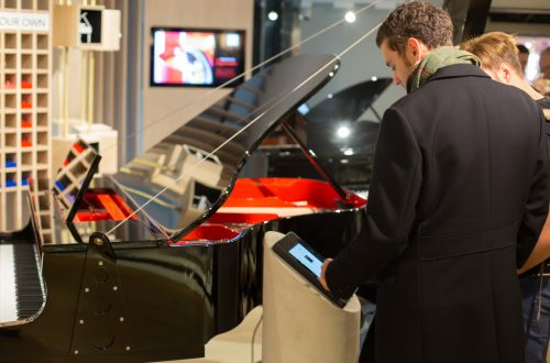 harrods create your own piano MG14104 Harrods Becomes Only Store In The World To Offer Fully Customisable Pianos EAT LOVE SAVOR International luxury lifestyle magazine and bookazines