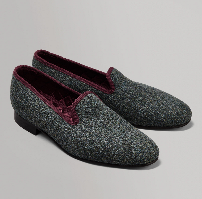 huntsman cawdor slippers Savile Row Tailor Huntsman Classic Offers Inspired Clothing for Sophisticated Gentlemen - EAT LOVE SAVOR International luxury lifestyle magazine and bookazines