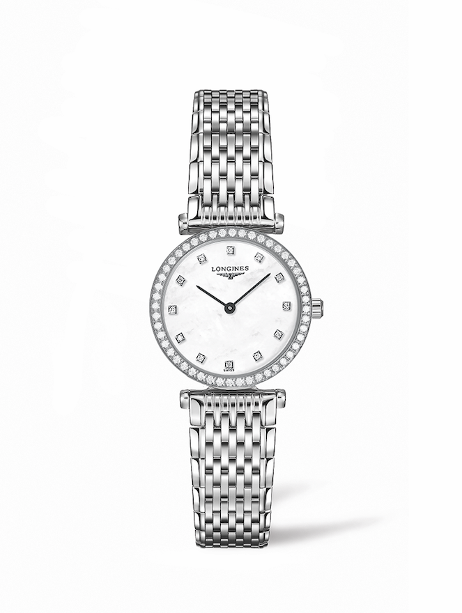 grand classique diamond face white TIMEPIECES: The Elegance of La Grande Classique de Longines - EAT LOVE SAVOR International luxury lifestyle magazine and bookazines