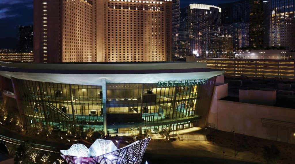 park theater exterior aerial view.jpg.image .1396.780.high Old Roots, New Leaves: The New Park MGM Las Vegas - EAT LOVE SAVOR International luxury lifestyle magazine and bookazines