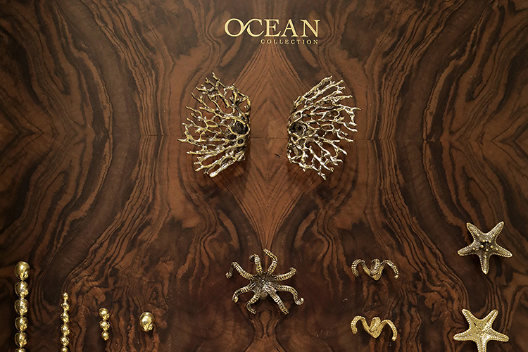 pullcast ocean collection Discover Pullcast: one of a kind jewellery hardware elevating furniture design EAT LOVE SAVOR International luxury lifestyle magazine and bookazines